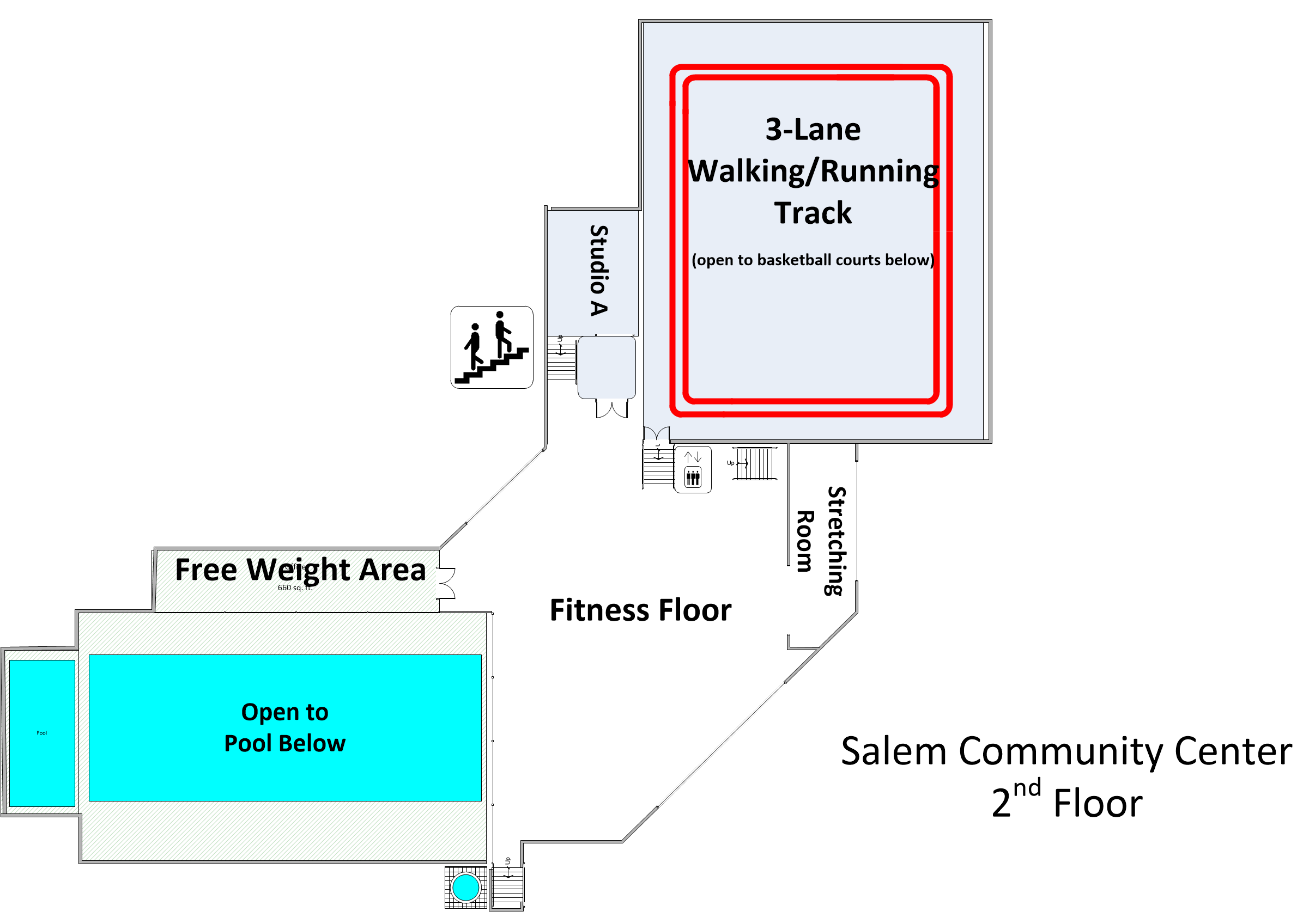 2nd Floor Facility Layout